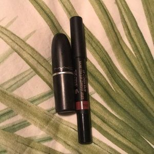 MAC Lipstick and Nudestix!